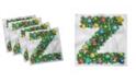 "Ambesonne Letter Z Set of 4 Napkins, 18"" x 18"""