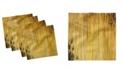 "Ambesonne Bamboo Set of 4 Napkins, 18"" x 18"""