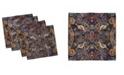 "Ambesonne Paisley Set of 4 Napkins, 18"" x 18"""