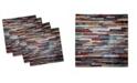 "Ambesonne Urban Set of 4 Napkins, 18"" x 18"""