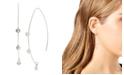 Jessica Simpson Cubic Zirconia Stone Threader Earrings