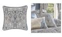"J Queen New York Alexis 20"" Square Decorative Throw Pillow"