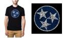 LA Pop Art Men's Premium Word Art T-shirt - Tennessee Tristar