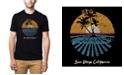 LA Pop Art Men's Premium Word Art T-shirt - Cities in San Diego