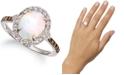 Le Vian Neopolitan Opal (1-1/5 ct. t.w.) & Diamond (3/8 ct. t.w.) Ring in 14k White Gold
