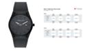 Kenneth Cole New York Mens Silicon Slim Watch 43.8mm