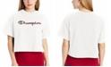 Champion Women's Printed-Logo Cropped T-Shirt