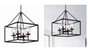 """Home Accessories Anson 20"""" 4-Light Indoor Pendant Lamp with Light Kit"""
