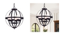 """Home Accessories Almog 22"""" 6-Light Indoor Pendant Lamp with Light Kit"""