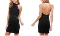 City Studios Juniors' Halter Bodycon Dress
