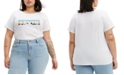 Levi's Trendy Plus Size Perfect Cotton Graphic T-Shirt