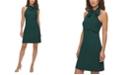Vince Camuto Bow-Neck Halter Dress
