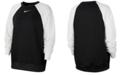 Nike Plus Size Therma Colorblocked Crewneck Top