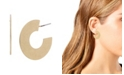Robert Lee Morris Soho Geometric Hoop Earrings