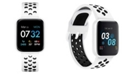 iTouch Women's Air 3 White Perforated Silicone Strap Touchscreen Smart Watch 40mm