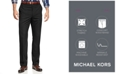 Michael Kors Michael Kors Men's Solid Classic-Fit Stretch Dress Pants
