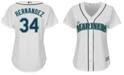 Majestic Women's Felix Hernandez Seattle Mariners Replica Jersey