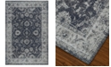 "Dalyn Mosaic Manor Steel Blue 9'6"" x 13'2"" Area Rug"