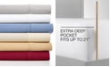 AQ Textiles CLOSEOUT! Highland Extra Deep Pocket King 4-Pc Sheet Set, 600 Thread Count, Created for Macy's