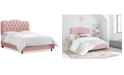 Skyline Brooke Queen Tufted Bed, Quick Ship