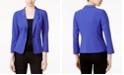 kensie Three-Quarter-Sleeve Blazer