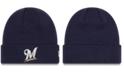 New Era Milwaukee Brewers Basic Cuffed Knit Hat