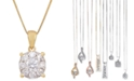 Macy's Diamond Pendant Necklace in 14k Yellow Gold (1 ct. t.w.)