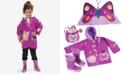 Kidorable Butterfly Rain Gear, Toddler Girls & Little Girls