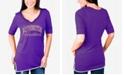 Gameday Couture Women's Washington Huskies Beaded Neckline T-Shirt