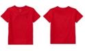 Polo Ralph Lauren Little Boys Cotton Jersey V-Neck T-Shirt