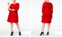 Jessica Howard Plus Size Fit & Flare Sweater Dress