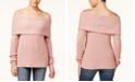 Freshman Juniors' Off-The-Shoulder Sweater