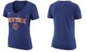 Nike Women's New York Knicks Wordmark T-Shirt