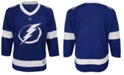 Authentic NHL Apparel Tampa Bay Lightning Blank Replica Jersey, Toddler Boys