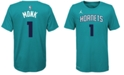 Nike Malik Monk Charlotte Hornets Icon Name & Number T-Shirt, Big Boys (8-20)