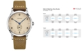 Longines Men's Swiss Automatic Heritage 1945 Brown Leather Strap Watch 40mm