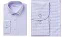 Bar III Men's Classic/Regular-Fit Stretch Horizontal Stripe Dobby Dress Shirt, Created for Macy's