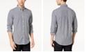 Tommy Hilfiger Men's Twain Classic-Fit Stretch Check Shirt