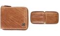 Tommy Hilfiger Men's Darin Leather Zip Wallet