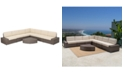 Furniture Clayton Outdoor 8-Pc. Sectional Set, Quick Ship