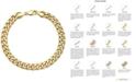 Macy's Cuban Chain Bracelet in 14k Gold