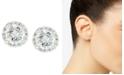 Giani Bernini Pavé Cubic Zirconia Stud Earrings (1-3/4 ct. t.w.) in Sterling Silver, Created for Macy's