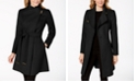 Michael Kors Petite Asymmetrical Belted Coat, Created for Macy's
