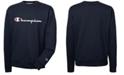 Champion Men's Powerblend Fleece Logo Sweatshirt