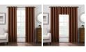 """Keeco Antique Satin 52"""" x 84"""" Room-Darkening Grommet Window Panel"""
