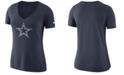 Nike Women's Dallas Cowboys Tri-Fan T-Shirt
