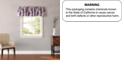 Laura Ashley Lidi Pink Window Valance