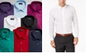Alfani Men's Solid Classic/Regular Fit Dress Shirt, Created For Macy's