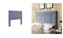 Crosley CLOSEOUT! Reston Square Upholstered Full And Queen Headboard In Microfiber