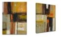 "Ready2HangArt 'Down to Earth II' Abstract Canvas Wall Art, 30x20"""